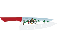 AB90172 Pure Komachi Holiday Knife Penguin
