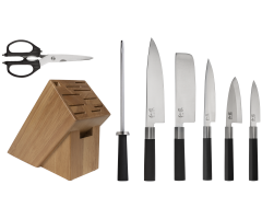 WBS0800 Wasabi 8 Pc Block Set